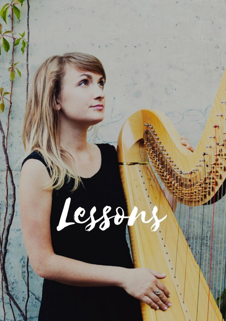 Vancouver wedding harpist and harp teacher